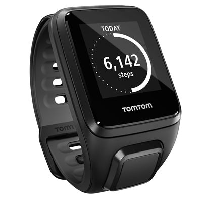 TomTom Runner 2 Music Small GPS Sports Watch with Headphones - Steps