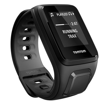 TomTom Runner 2 Music Small GPS Sports Watch with Headphones - Trax