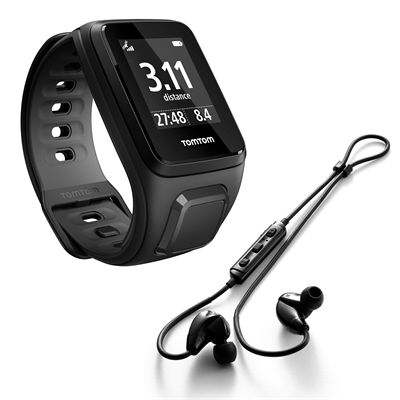 TomTom Runner 2 Music Small GPS Sports Watch with Headphones