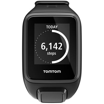 TomTom Runner 2 Small GPS Sports Watch-Black-Front Activity