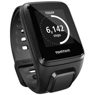 TomTom Runner 2 Small GPS Sports Watch-Black-Right Activity