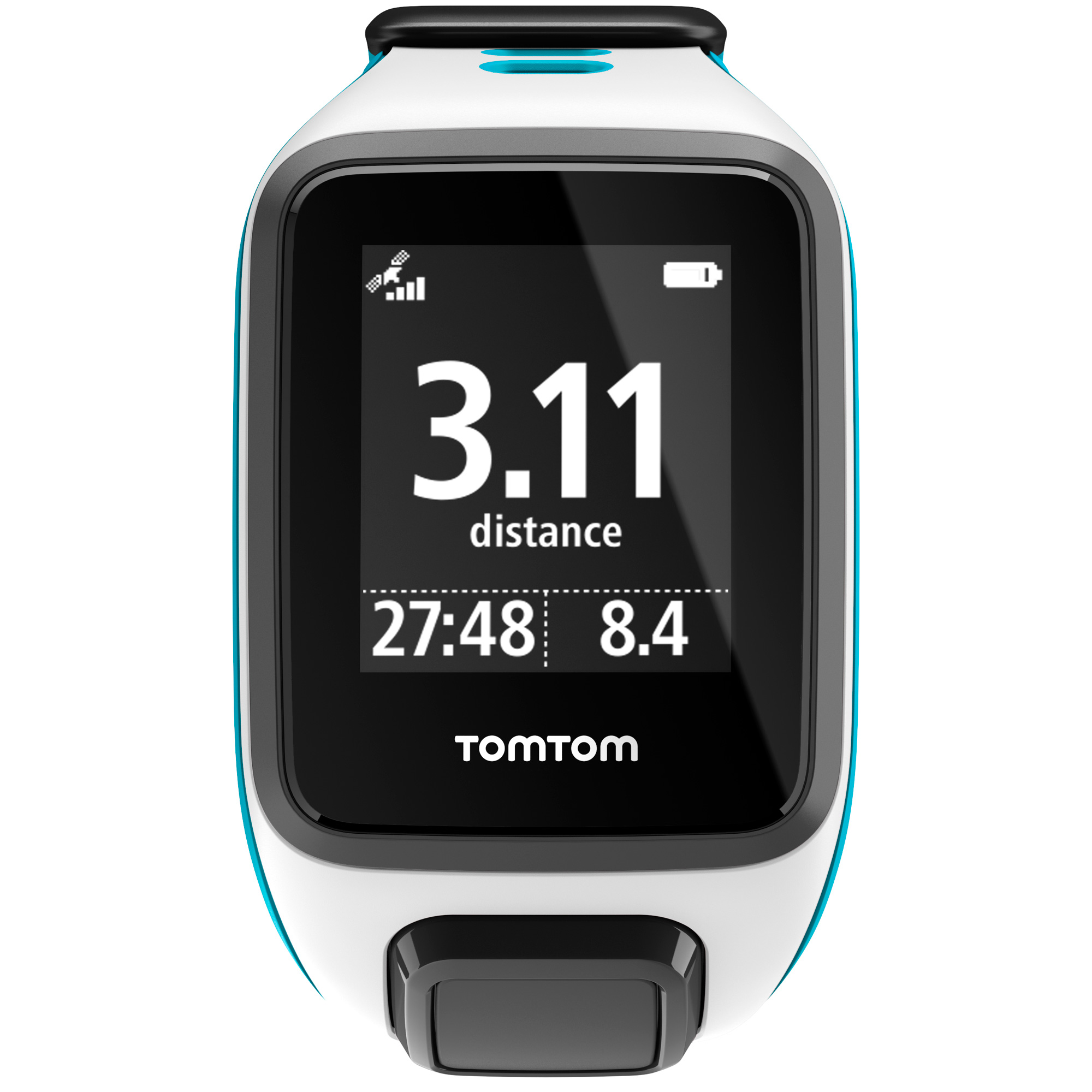 TomTom Runner 2 Small GPS Sports Watch - White/Blue
