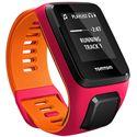 TomTom Runner 3 Cardio Music Small  Heart Rate Monitor-Pink/Orange-Music