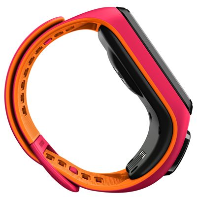 TomTom Runner 3 Cardio Music Small  Heart Rate Monitor-Pink/Orange-Side