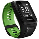 TomTom Runner 3 Large GPS Sports Watch-Black/Green-Angled