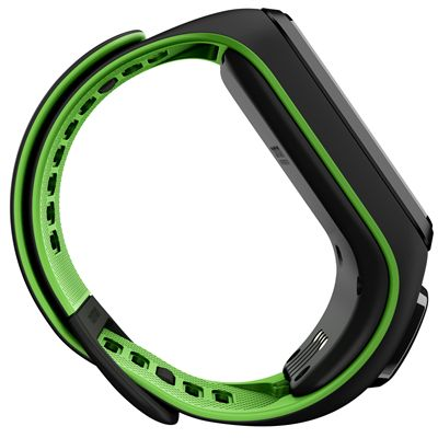 TomTom Runner 3 Small GPS Sports Watch-Black/Green-Side