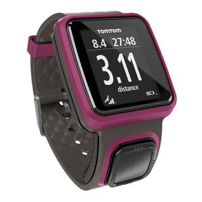 TomTom Runner GPS Sports Watch-Dark Pink-Image