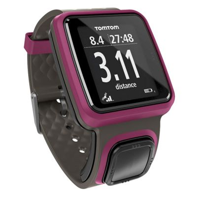 TomTom Runner GPS Sports Watch with HRM - Pink