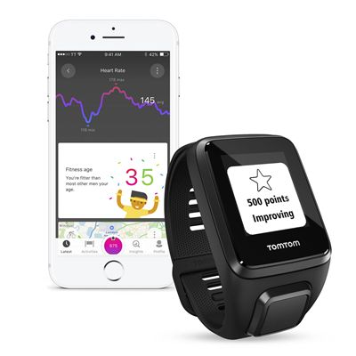 TomTom Spark 3 Cardio Large Heart Rate Monitor - app2