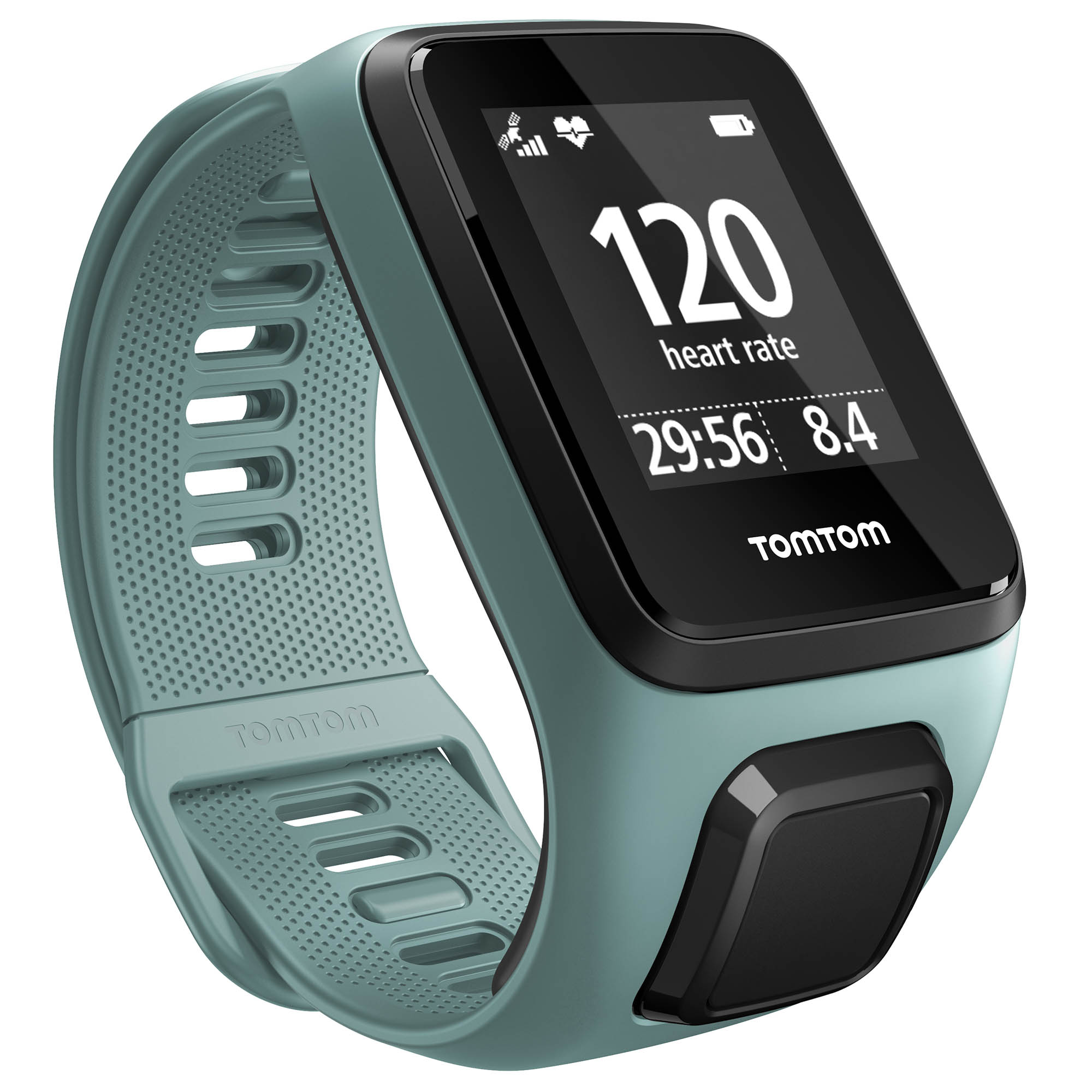 TomTom Spark 3 Cardio Small Heart Rate Monitor – Aqua