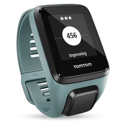 TomTom Spark 3 Cardio Small Heart Rate Monitor - Aqua - Goal