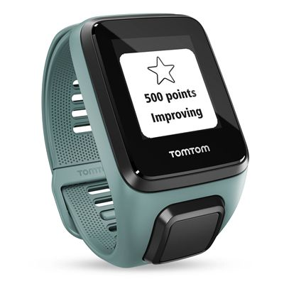 TomTom Spark 3 Cardio Small Heart Rate Monitor - Aqua - Points