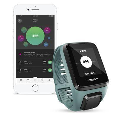 TomTom Spark 3 Small GPS Sports Watch - Aqua - App2