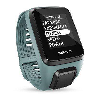 TomTom Spark 3 Small GPS Sports Watch - Aqua - Menu