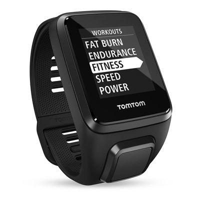 TomTom Spark 3 Small GPS Sports Watch - Black - Menu