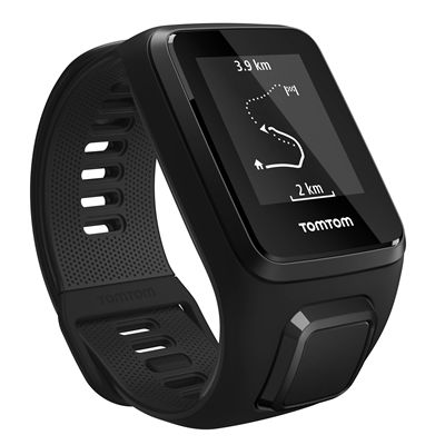 TomTom Spark 3 Small GPS Sports Watch - Black - Route
