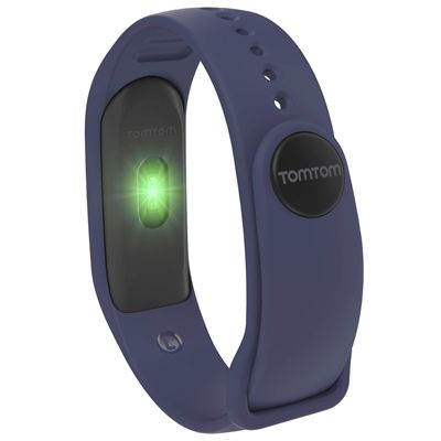 TomTom Touch Cardio Heart Rate Monitor - Indigo - Back