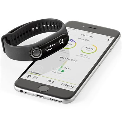 TomTom Touch Large Fitness Tracker  with Heart Rate Monitor-Mobile