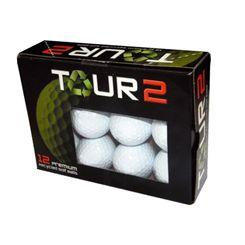 Tour 2 Callaway Mixed Lake Balls (12 balls)