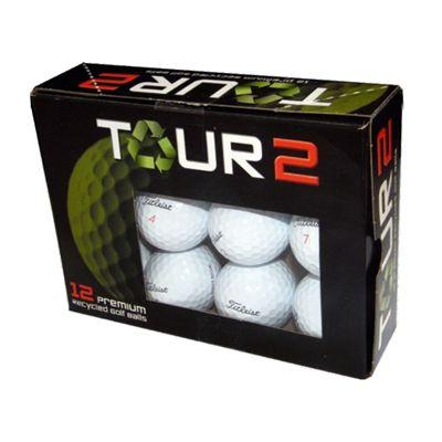 Tour 2 Titleist NXT Tour Lake Balls - 12 balls