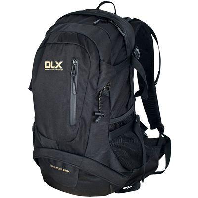 Trespass Deimos DLX 28L Backpack-Black-Front