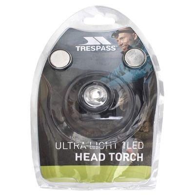 Trespass Flasher Head Torch-Packaging
