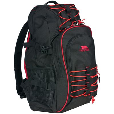 Trespass Harriott 30L Backpack-Black