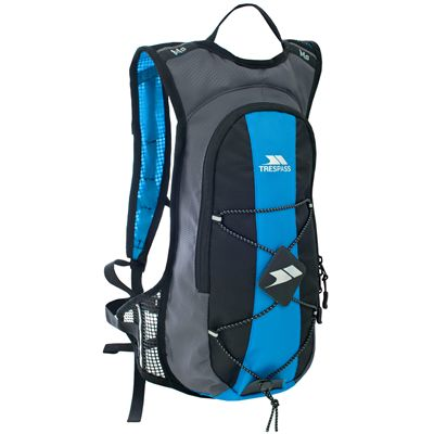 Trespass Mirror 15L Hydration Backpack-Black/Blue