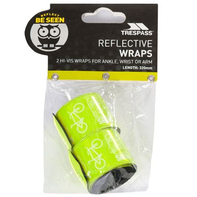 Trespass Snapper High-Visibility Wristband-Packaging