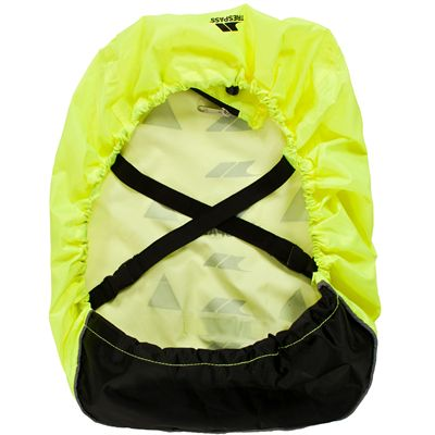 Trespass Sulcata High-Visibility Rucksack Cover-Back View