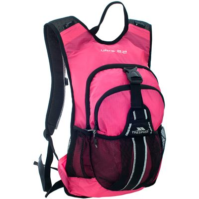 Trespass Ultra 22 Lightweight Running Backpack-Pink