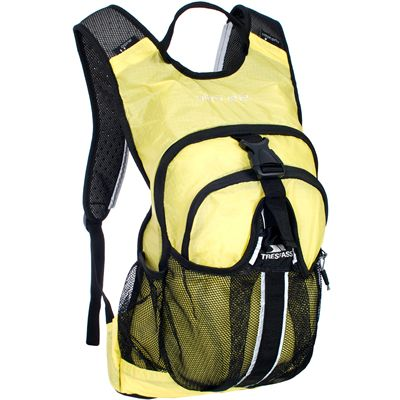 Trespass Ultra 22 Lightweight Running Backpack-Yellow