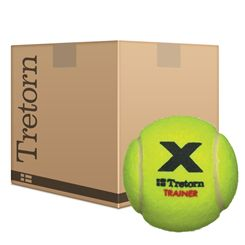 Tretorn Micro X Trainer Tennis Balls Yellow