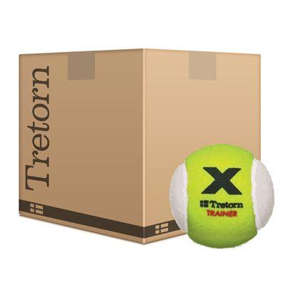 Tretorn Micro X Trainer Tennis Balls Yellow/White
