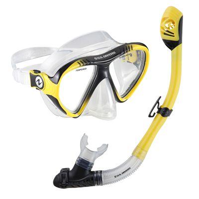 U.S. Divers Magellan LX Mask and Tucson LX Snorkel Set-Yellow