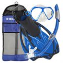 U.S. Divers Yucatan Snorkel Set with Fins