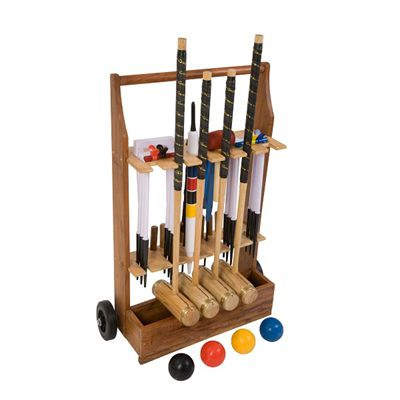 Uber Games Executive Croquet Set 4 - Trolley