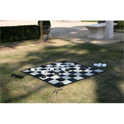 Uber Games Garden Chess Mat Image 1