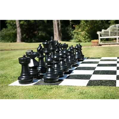 Uber Games Giant Chess - black figures