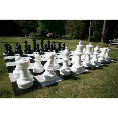 Uber Games Giant Chess Angle View