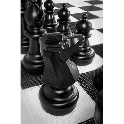 Uber Games Giant Chess Close View
