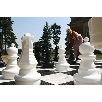Uber Games Giant Chess Pieces Close View