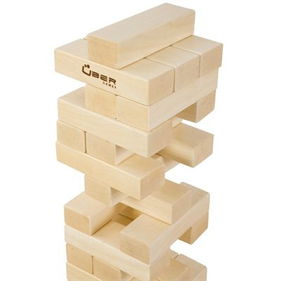 Uber Games Giant Tumble Tower Close View