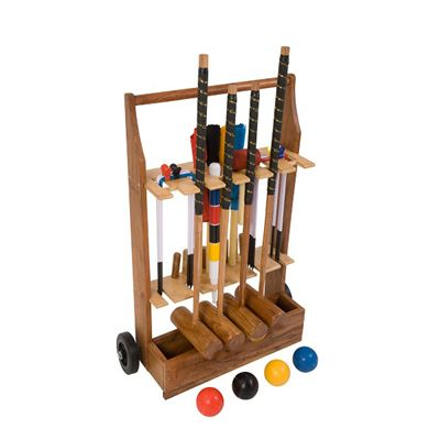 Uber Games Pro Croquet Set 4 - Trolley