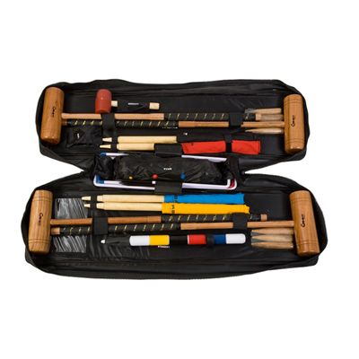 Uber Games Tool Kit Croquet Set Bag open