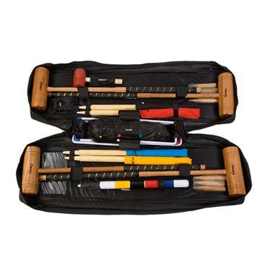 Uber Games Tool Kit Croquet Set Bag open