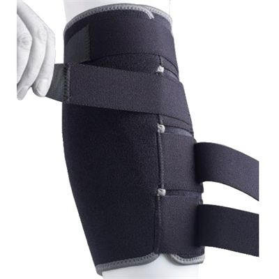 Ultimate Performance Advanced Shin and Calf Support-In Use