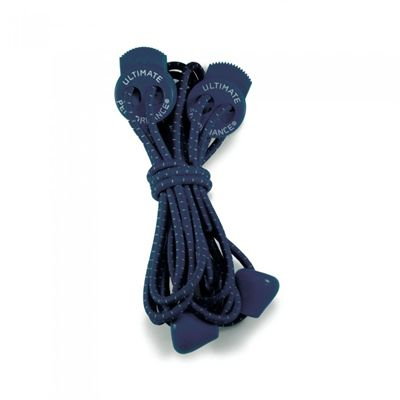 Ultimate Performance Elastic Laces-Navy