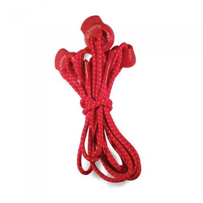 Ultimate Performance Elastic Laces - Red