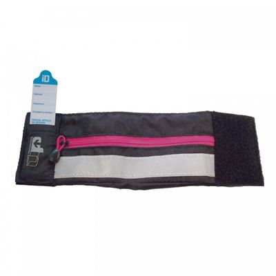 Ultimate Performance High-Visibilty Running Wristband-Pink